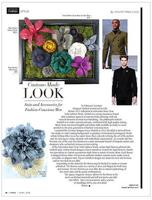 Hayes Hamilton in the press:  Think Style